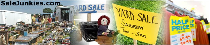 yard sale header graphic
